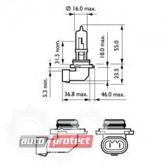 ���� 3 - Philips Vision HB3 12V 60W ��������� �������, 1�� 2