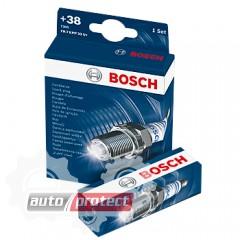 Фото 1 - Bosch Super Plus 0 242 229 883 (FR8DCE+ 0.8) Свеча зажигания, комплект 4 штуки