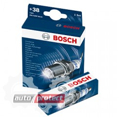 Фото 1 - Bosch Super Plus 0 242 225 859 (WR9DC+) Свеча зажигания, 1 штука