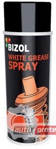 Фото 1 - Bizol White Grease Spray Смазка белая с тефлоном
