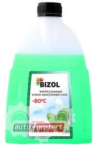 Фото 1 - Bizol Winter Screen Wash Жидкость для омывания стекл до -80C