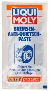 Фото 1 - Liqui Moly Bremsen Anti Quietsch Paste Паста для тормозной системы, синяя