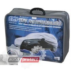 Фото 1 - Vitol Тент автомобильный нейлоновый с подкладкой на джип / минивен PEVA+PP, L 1