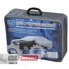 Фото 1 - Vitol Тент автомобильный нейлоновый с подкладкой на седан PEVA+PP, S