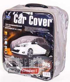Фото 1 - Vitol Тент автомобильный нейлоновый с подкладкой на хэтчбек PEVA + non Woven, XL 1