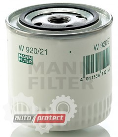 Фото 1 - MANN-FILTER MF W920/21 масляный фильтр 1