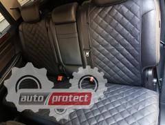 Фото 4 - Аvторитет Premium Накидки из экокожи на передние и задние сиденья, черные