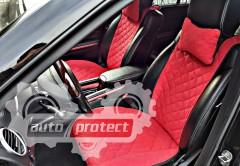 Фото 3 - Аvторитет Premium Накидка на переднее сиденье, красный, 2шт 3