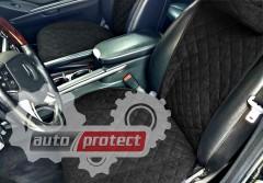 Фото 5 - Аvторитет Premium Накидка на переднее сиденье, черный, 2шт 5