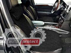 Фото 2 - Аvторитет Premium Накидка на переднее сиденье, черный, 2шт 2