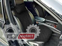 Фото 3 - Аvторитет Premium Накидка на переднее сиденье, черный, 2шт 3