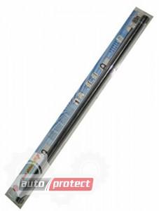 Фото 1 - Vitol Шторка солнцезащитная c роликовым механизмом, черная, 1.1х0.57м 1