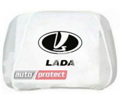 Фото 1 - Autoprotect Чехлы на подголовники LADA, белые 1
