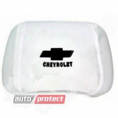 Фото 1 - Autoprotect Чехлы на подголовники  CHEVROLET , белые 1