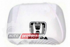 Фото 1 - Autoprotect Чехлы на подголовники HONDA, белые 1