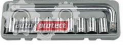 Фото 1 - Sigma ROJ-S704010 Набор головок, 10 предметов, 8-21мм, 1/2
