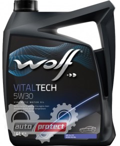 Фото 3 - Wolf Vitaltech 5W-30 Синтетическое моторное масло 3