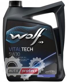 Фото 1 - Wolf Vitaltech 5W-30 Синтетическое моторное масло 1