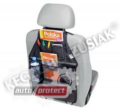 Фото 1 - Kegel-Blazusiak Multipocket Защитный органайзер на спинку сиденья, 1шт 1