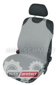 Фото 1 - Kegel-Blazusiak Singlet Майки автомобильные на передние сиденья серые, 1шт 1