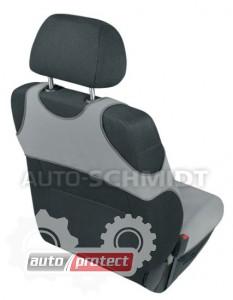 Фото 2 - Kegel-Blazusiak Singlet Майки автомобильные на передние сиденья серые, 1шт 2