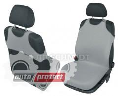 Фото 3 - Kegel-Blazusiak Singlet Майки автомобильные на передние сиденья серые, 1шт 3