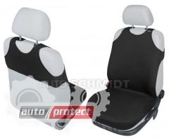 Фото 1 - Kegel-Blazusiak Singlet Майки автомобильные на передние сиденья черные, 1шт 1