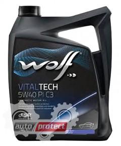 Фото 1 - Wolf Vitaltech PI C3 5W-40 Синтетическое моторное масло 1