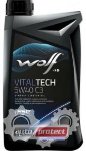 Фото 2 - Wolf Vitaltech B4 Diesel 5W-40 Синтетическое моторное масло 2