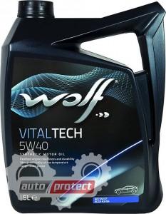 Фото 1 - Wolf Vitaltech 5W-40 Синтетическое моторное масло 1