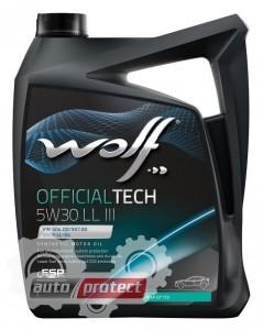 Фото 1 - Wolf Officaltech LL III 5W-30 Синтетическое моторное масло 1