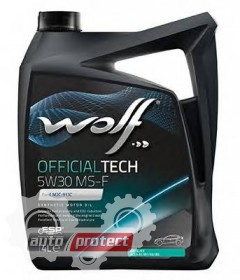 Фото 1 - Wolf Officialtech MS-F 5W-30 Синтетическое моторное масло 1