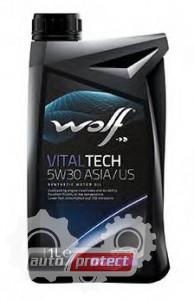 Фото 2 - Wolf Vitaltech ASIA/US 5W-30 Синтетическое моторное масло 2