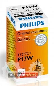 Фото 1 - Philips Standart P13W 12V 13W Автолампа галоген, 1шт 1