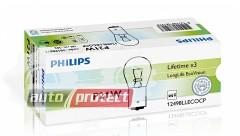 Фото 1 - Philips LongLife EcoVision P21W 12V 21W Автолампа галоген, 1шт 1