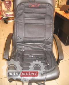Фото 2 - CarEx HC-01 Накидка на сиденье с подогревом, пульт серая 1шт