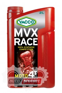 Фото 1 - Yacco MVX RACE 10W-60 Синтетическое масло для 4Т двигателей 1