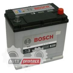 Фото 1 - Bosch S4 Silver 44 Ач -/+ 440A Аккумулятор автомобильный