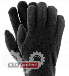 Фото 1 - InterTool Перчатки флисовые черные 1