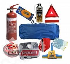 Фото 1 - Autoprotect Maxi Набор автомобилиста, стандартная сумка, 9 предметов + перчатки в подарок! 1