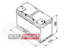 Фото 2 - Bosch Аккумулятор автомобильный Bosch S5 SILVER 110 А*ч -/+ 920A