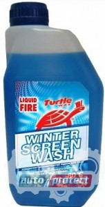 Фото 1 - Turtle Wax Liquid Fire Жидкость для омывания стекл концентрат, до - 80С 1