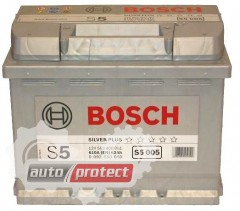 Фото 1 - Bosch Аккумулятор автомобильный Bosch S5 SILVER 63 А*ч -/+ 610A