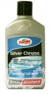 Фото 1 - Turtle Wax Серебристый хром Turtle Wax Silver Chrom