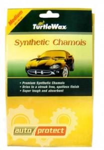 Фото 1 - Turtle Wax Synthetic Chamois Салфетка замшевая 40х40см