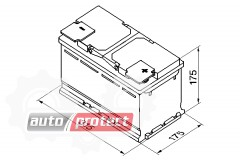 Фото 2 - Bosch S5 Silver 85Ач 800A -/+ Аккумулятор автомобильный