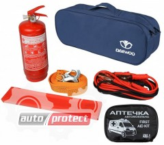Фото 1 - Autoprotect Набор автомобилиста Daewoo, 6 предметов + перчатки в подарок! 1