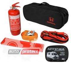 Фото 1 - Autoprotect Набор автомобилиста Honda, 6 предметов + перчатки в подарок! 1