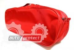 Фото 2 - Autoprotect Набор автомобилиста, красная сумка, 6 предметов + перчатки в подарок!