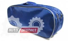 Фото 3 - Autoprotect Набор автомобилиста, синяя сумка, 6 предметов + перчатки в подарок!